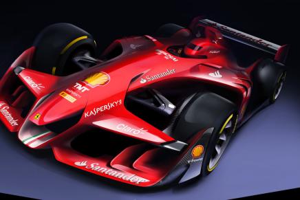 Будущее Формулы-1. Взгляд команды дизайнеров Ferrari.