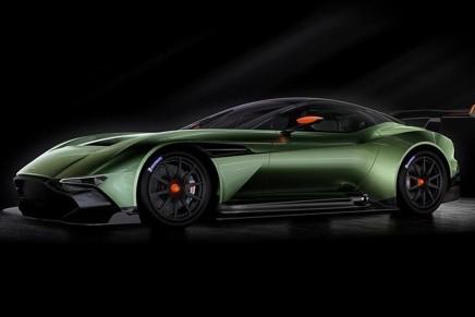 Сумасшедший спорт кар от Aston Martin
