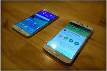 Новые фотографии Samsung Galaxy S6 и Galaxy S6 Edge