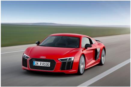 Электрический Audi R8, но только под заказ