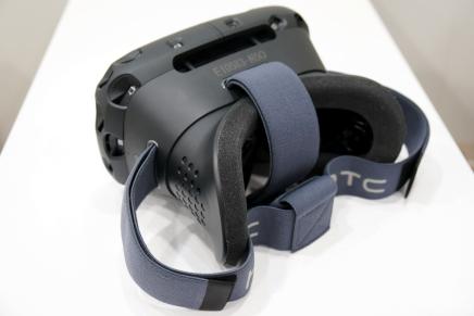 HTC Vine – шлем виртуальной реальности от HTC для Valve
