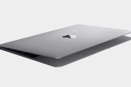 Новый MacBook еще тоньше, еще легче, еще тише