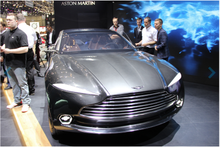 Aston Martin DBX Concept – электрический GT по версии Aston Martin на Женевском автосалоне
