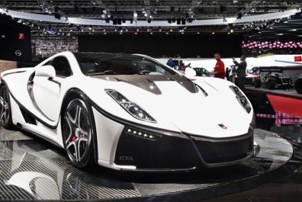Испанский супер кар на Женевском автосалоне GTA Spano