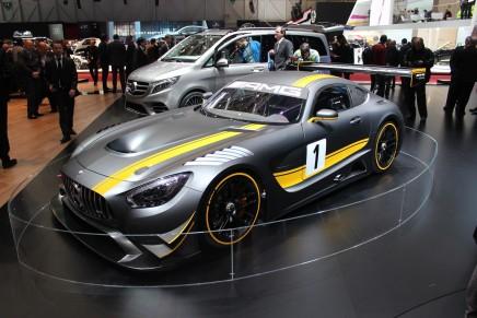 Mercedes-AMG Race Car представлен на Женевском автосалоне