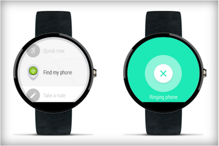 Умные часы с Android Wear помогут Вам найти свой смартфон