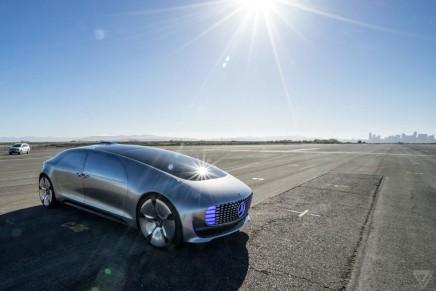 Автомобиль будущего – Mercedes-Benz F 015
