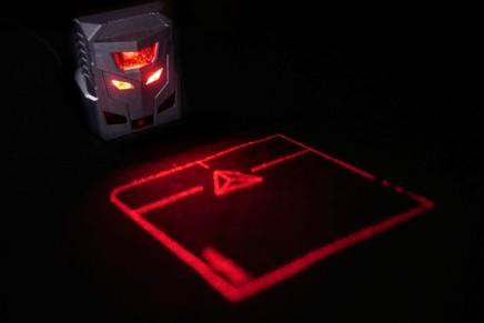 Знакомьтесь, ODiN, – первая в мире проекционная мышка