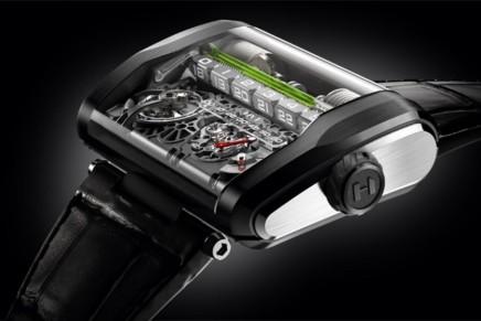 Гидромеханические часы стоимостью почти в 300 тыс. долларов