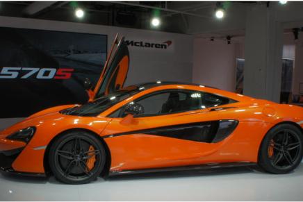 McLaren 570S спорткар для бедных миллионеров