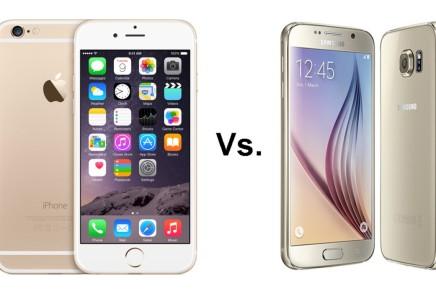 Сравнение iPhone 6 и Samsung S6