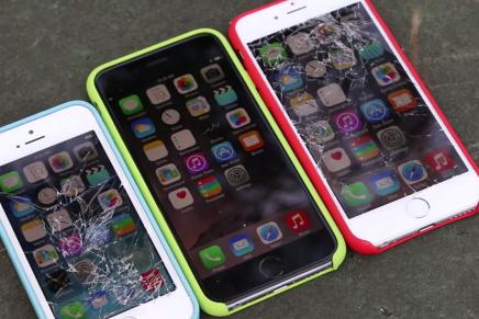 Тест на прочность. Разбиваем iPhone 6 и iPhone 6 Plus
