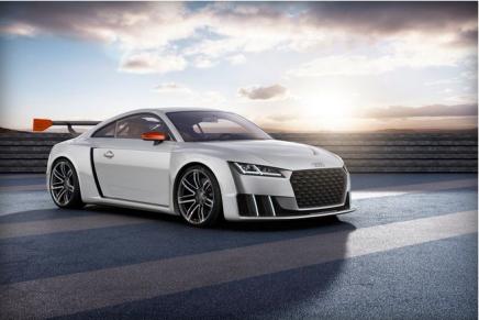 Новый концепт Audi TT выглядит потрясающе