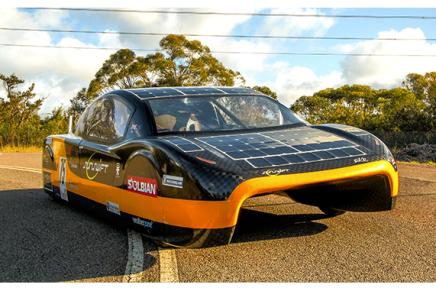 Автомобиль на солнечных батареях на улицах Австралии уже этим летом