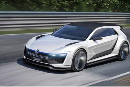 Народный концепт гибридного автомобиля Golf GTE Sport