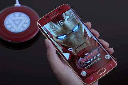 Распаковка Samsung Galaxy S6 Edge Iron Man