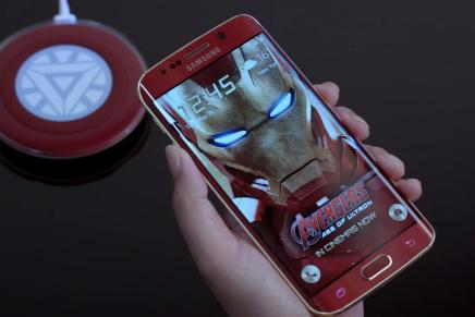 Распаковка Samsung Galaxy S6 Edge Iron Man