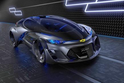 Футуристический концепт кар от Chevrolet