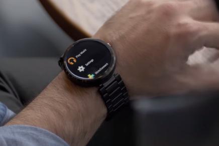 Aria – устройство управления управление умными часами с помощью жестов