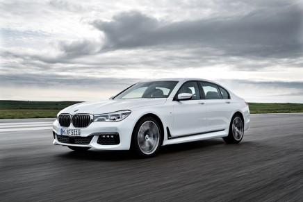 BMW представила обновление седана 7 серии 2016 модельного года