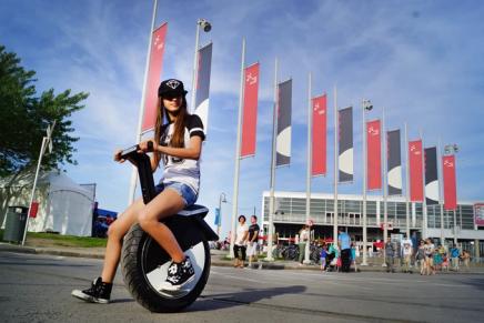 MotoPogo – самобалансирующий одноколесный мотоцикл или Segway переросток