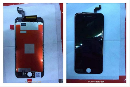 Шпионские фото нового iPhone 6S
