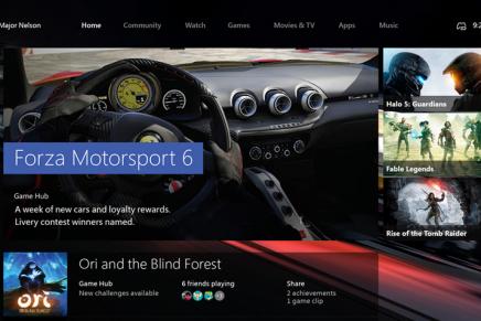 Windows 10 для Xbox One уходит на тестирование для участников программы Windows Insiders