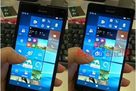 Изображения нового флагманского смартфона от Microsoft (утечка)