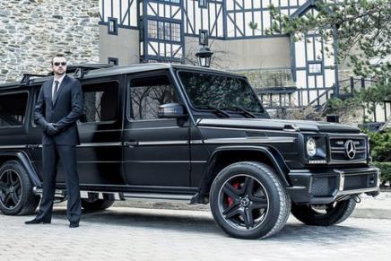 Как надо рекламировать бронированные люксовые автомобили