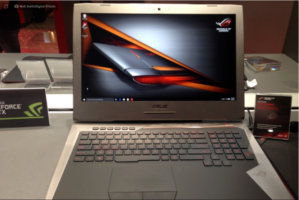 Игровой ноутбук Asus ROG G752 представлен на IFA 2015