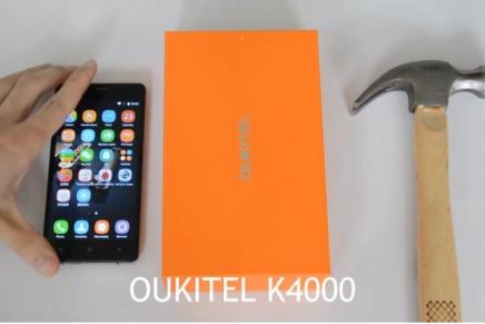 Молоткойстойчивый iPhone – это Oukiten K4000