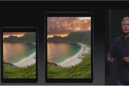 Apple представила самый большой свой планшет iPad Pro