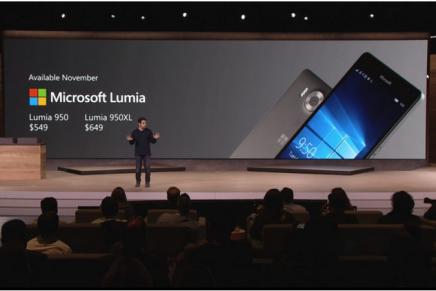 Microsoft представила Lumia 950 и 950 XL с USB Type-C и жидким охлаждением