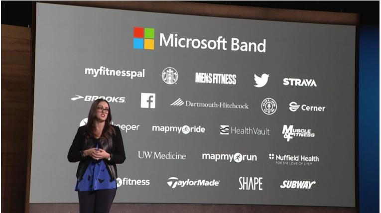 Microsoft Band и внешние сервисы