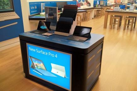 Еще не продающиеся девайсы уже можно найти в магазине Microsoft