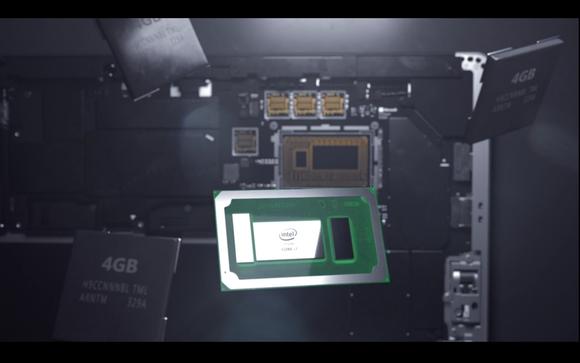 Чип Intel в Microsoft Surface Pro 4