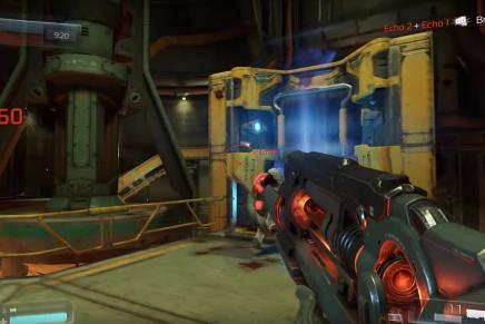 Видео геймплея Doom 3 Alfa