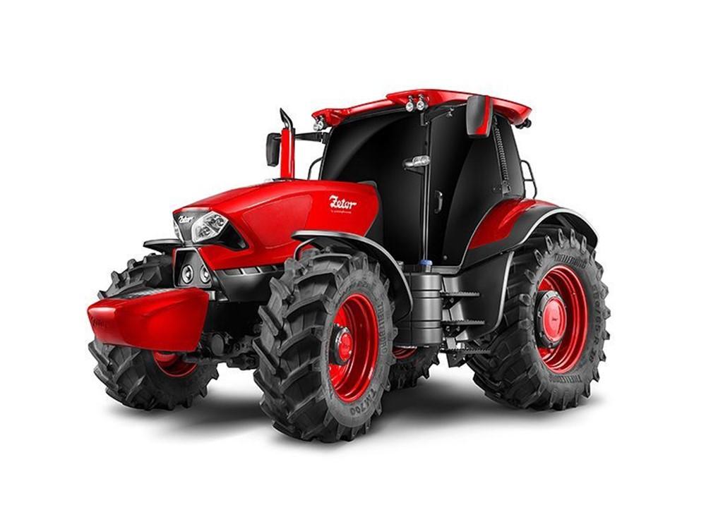 Концепт трактора Zetor