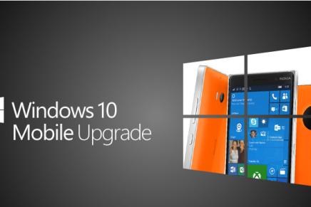 Обновление Windows 10 mobile будет… но позже