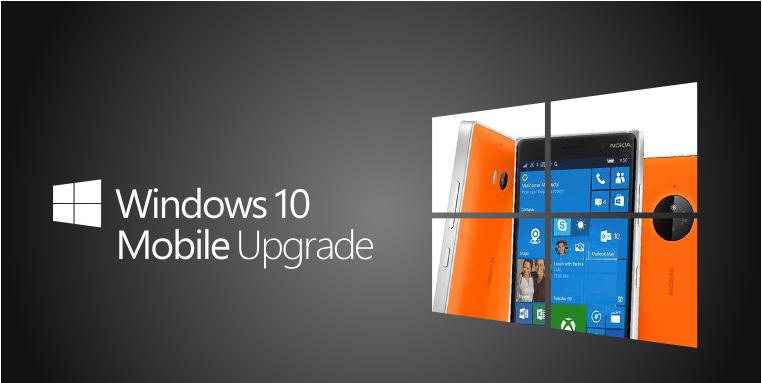 Обновление до Windows 10 mobile