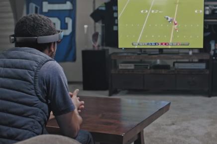 Футбол будущего с HoloLens