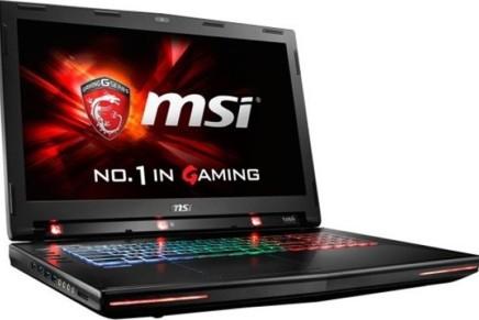 MSI GT72S G игровой ноутбук с технологией Eye Tracking поступил в продажу