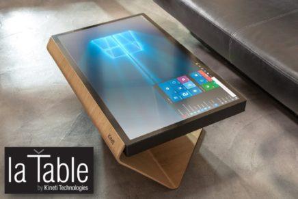 Кофейный столик с Windows 10 за 5000 евро