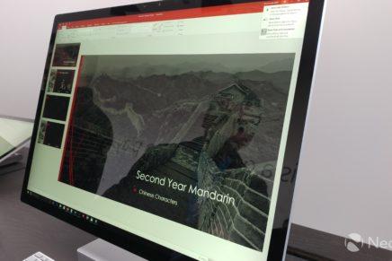 Первый опыт знакомства с Microsoft Surface Studio и Surface Dial