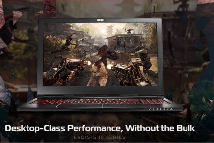 ORIGIN PC анонсировала тонкий и легкий ноутбук EVO15-S для геймеров
