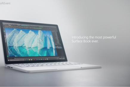 Microsoft представила новый Surface Book i7
