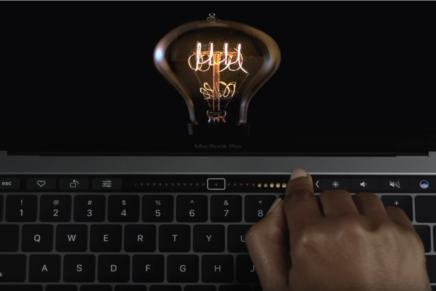 Шикарная реклама MacBook Pro от Apple