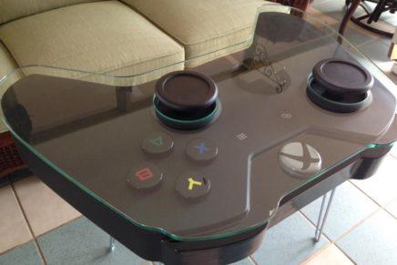 Кофейный столик в виде контроллера Xbox One за $1199